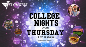 FlyingTee - College Nights