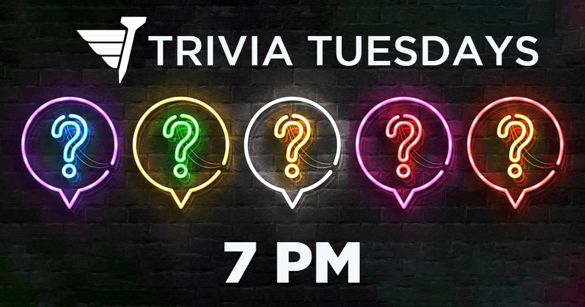FlyingTee - Trivia Tuesdays