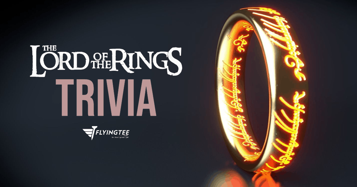 FlyingTee - Lord of the Rings Trivia